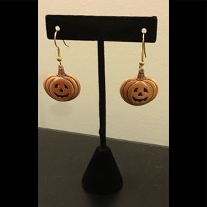🌷 PUMPKIN DROP EARRINGS